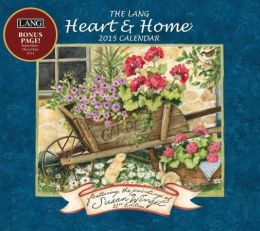 2015 Heart & Home 16m Wall Calendar (custom)