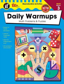 Daily Warm-Ups: Math Problems and Puzzles Grade 3