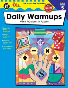 Daily Warm-Ups: Math Problems and Puzzles Grade 5