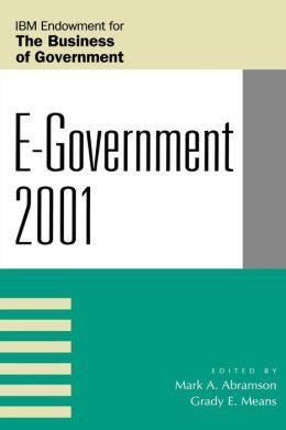 E-Government 2001