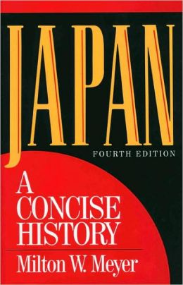 Japan: A Concise History, Fourth Edition