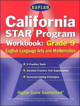 California STAR Program Workbook: Grade 9