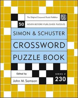 Simon & Schuster Crossword Puzzle Book #230
