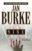 Book Cover Image. Title: Nine, Author: Jan Burke