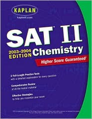 Kaplan SAT II: Chemistry 2003-2004