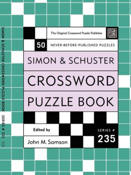 Simon & Schuster Crossword Puzzle Book #235