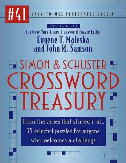 Simon & Schuster Crossword Treasury (Simon & Schuster Crossword Treasury Series #41)