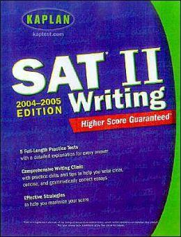 SAT II: Writing