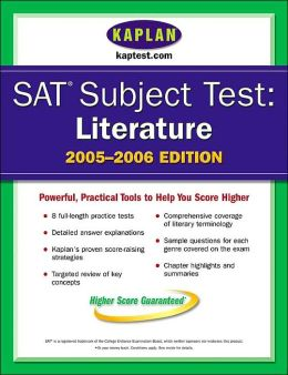 SAT Subject Tests: Literature 2005-2006