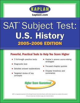 U. S. History (SAT Subject Test Series)