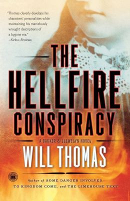 The Hellfire Conspiracy (Barker & Llewelyn Series #4)