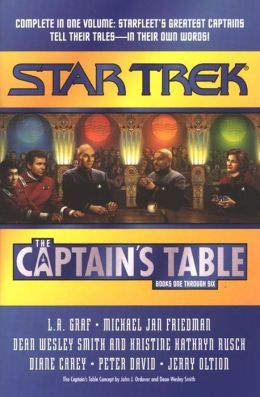 Star Trek The Captain's Table: Books One through Six