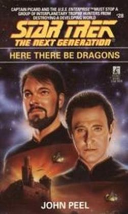 Star Trek The Next Generation #28: Here There Be Dragons