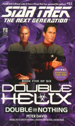 Star Trek The Next Generation #55 - Double Helix #5 - Double or Nothing