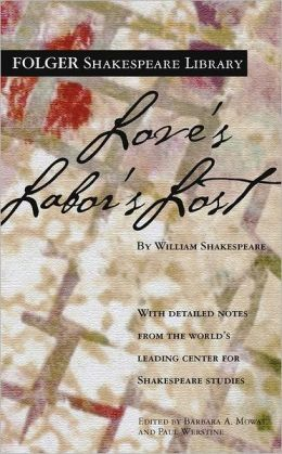 Love's Labor's Lost (Folger Shakespeare Library Series)