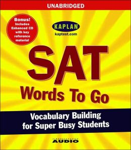 Words to Go: SAT Vocabulary Building for Super Busy Students