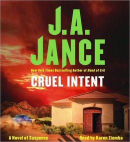 Cruel Intent (Ali Reynolds Series #4)