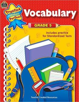 Vocabulary Guide 5 (Practice Makes Perfect Series)