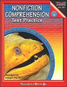 Time for Kids: Nonfictions Comprehension Test Practice Level 4