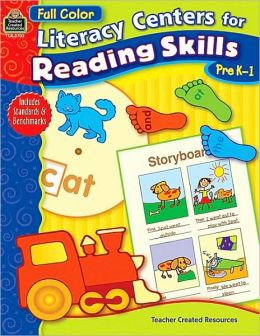 Literacy Centers for Reading Skills Pre-k/1
