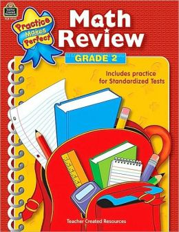 Math Review, Grade 2 (Practice Makes Perfect Series)