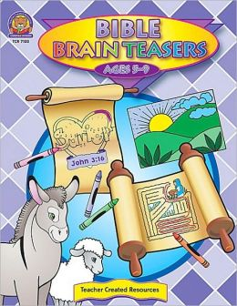 Bible Brain Teasers (Ages 5-9)