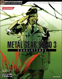 Metal Gear Solid 3: Subsistence Official Strategy Guide (Official Strategy Guides (Bradygames)) BradyGames