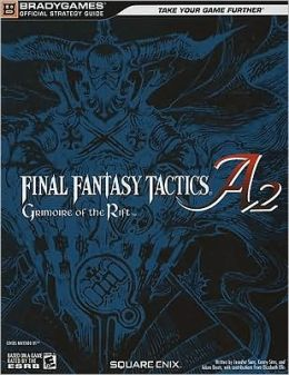Final Fantasy Tactics: Grimoire of Rift Official Strategy Guide