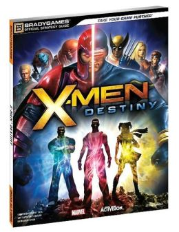 X-Men Destiny Official Strategy Guide
