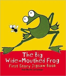 The Big Wide-Mouthed Frog : First Story Jigsaw Book