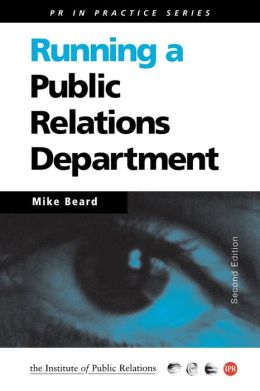 Running a Public Relations Department