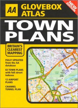 AA Glovebox Atlas: Town Plans