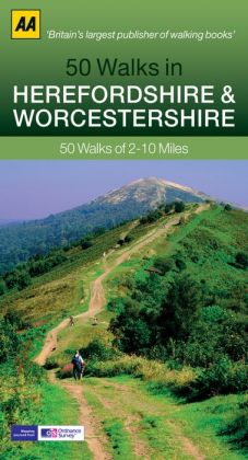 50 Walks in Herefordshire & Worcestershire: 50 Walks of 2-10 Miles