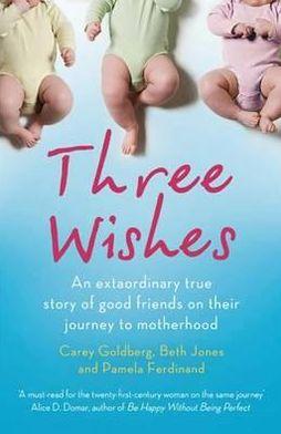 Three Wishes: An Extraordinary True Story of Good Friends on Their Journey to Motherhood. by Carey Goldberg, Beth Jones, Pamela Ferd