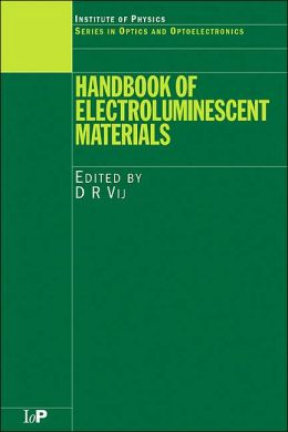 The Handbook of Electroluminescent Materials