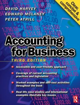 Accounting For Business 3e