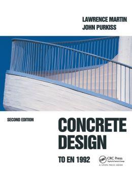 Concrete Design To En 1992