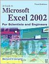 Guide to Microsoft Excel 2002 for Scientists and Engineers