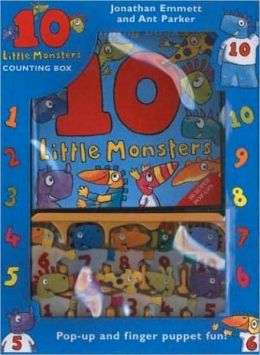 Ten Little Monsters Counting Box