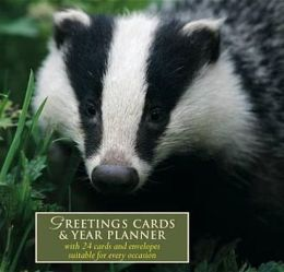 Woodland Wildlife Greetings Card Book