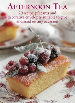 Afternoon Tea Recipe Giftcards