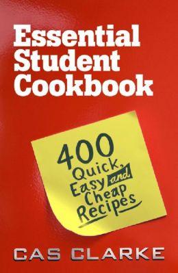 Essential Student Cookbook
