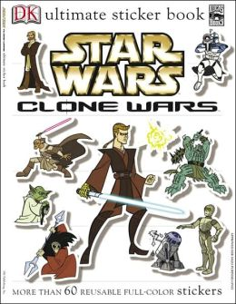 Ultimate Sticker Book: Star Wars: Clone Wars