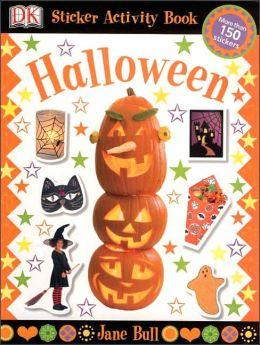 Sticker Activity Books: Halloween