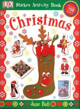 Sticker Activity Books: Christmas