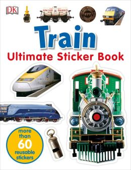 Ultimate Sticker Book: Train