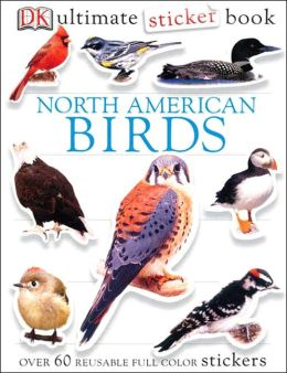 Ultimate Sticker Book: North American Birds