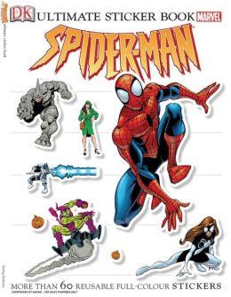 Ultimate Sticker Book: Spider-Man