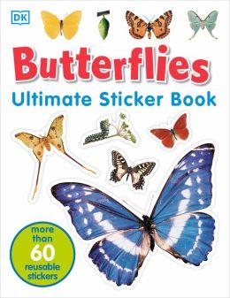 Butterflies (Ultimate Sticker Books Series)