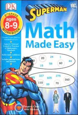 Math Made Easy: Superman: Third Grade